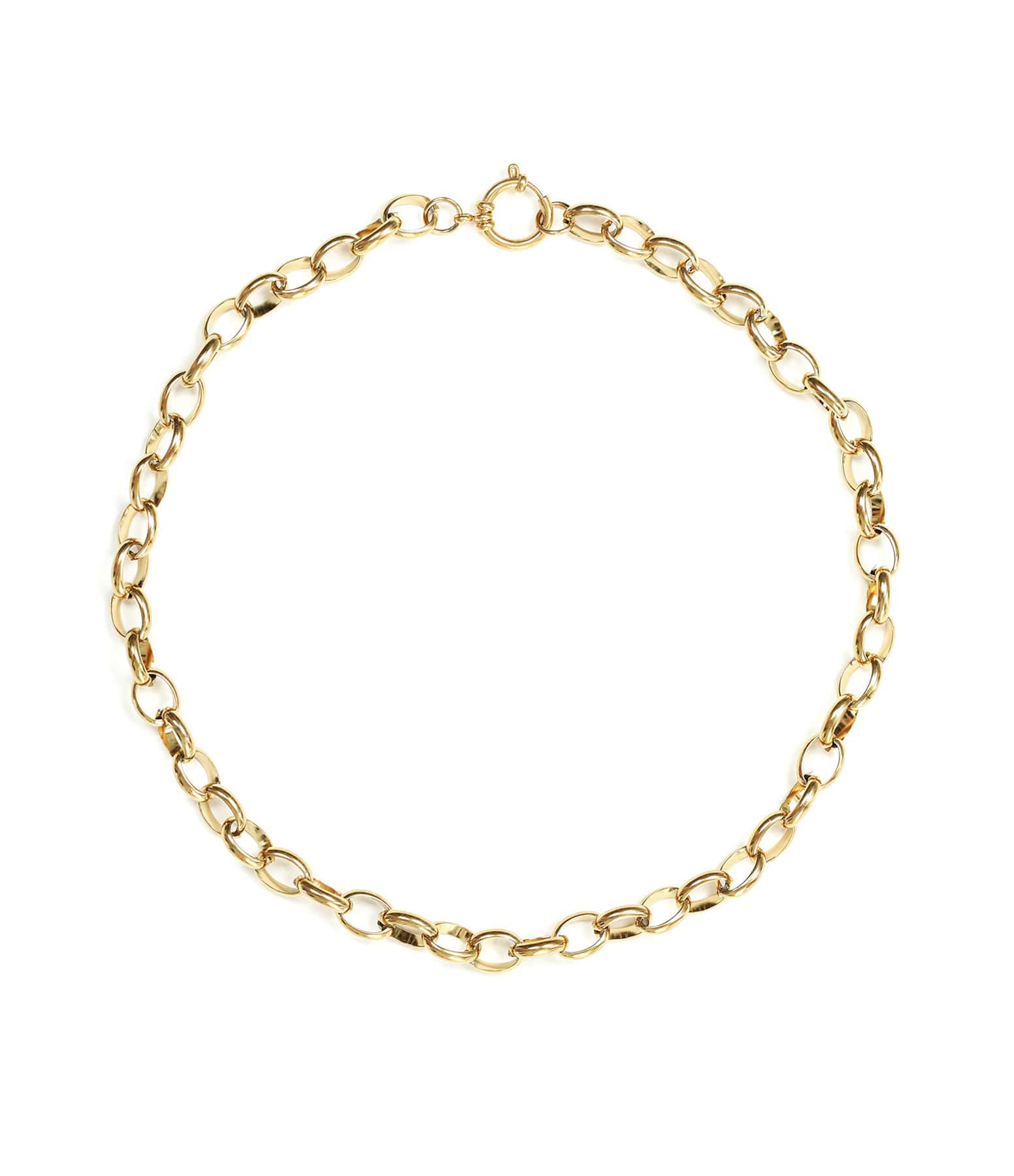 SHAKER JEWELS - Collier Lune Plaqué Or