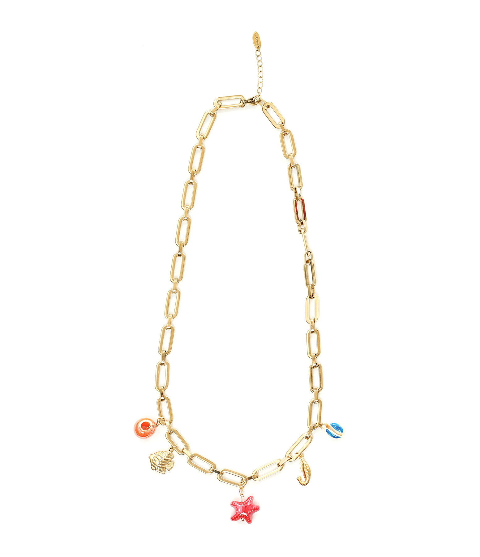 SHAKER JEWELS - Collier Naora Charms Plaqué Or