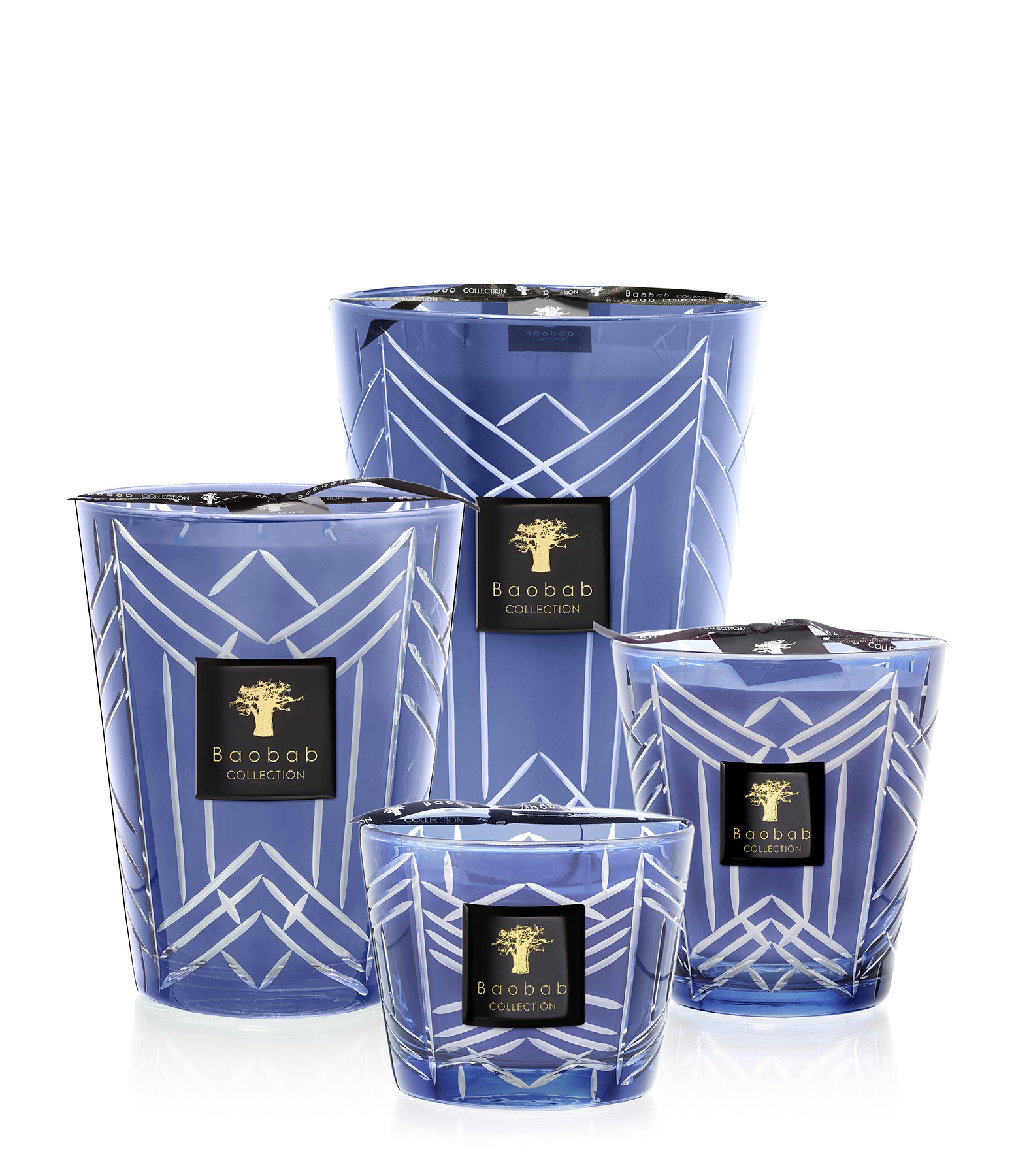 BAOBAB COLLECTION - Bougie Max 16 High Society Swann