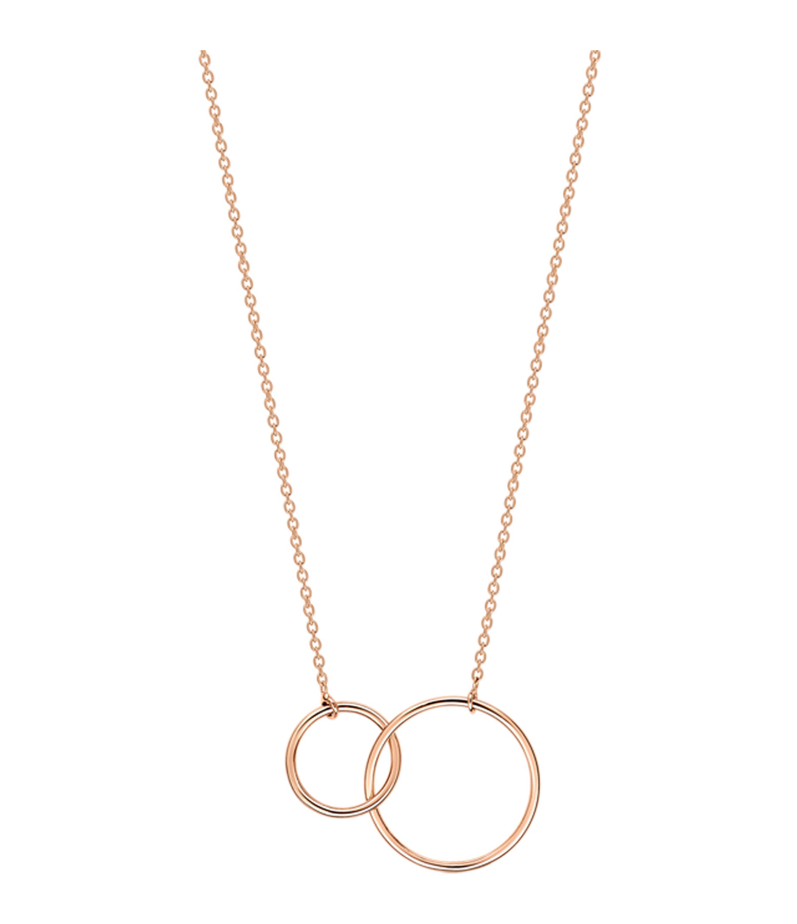 GINETTE NY - Collier Tiny Fusion Or Rose