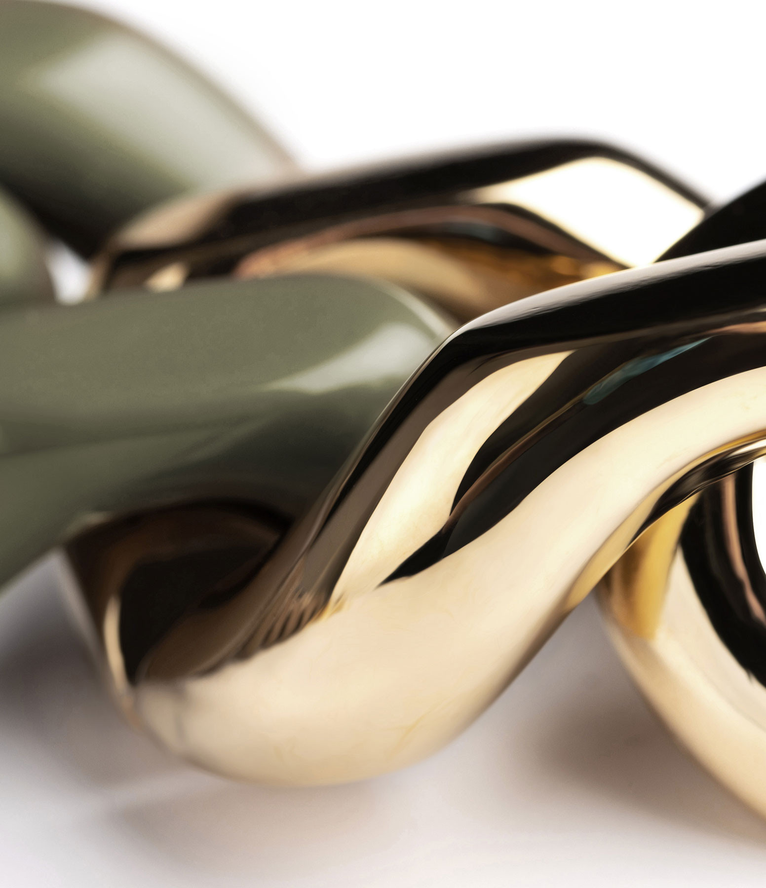 VANESSA BARONI - Collier Great Olive Gold