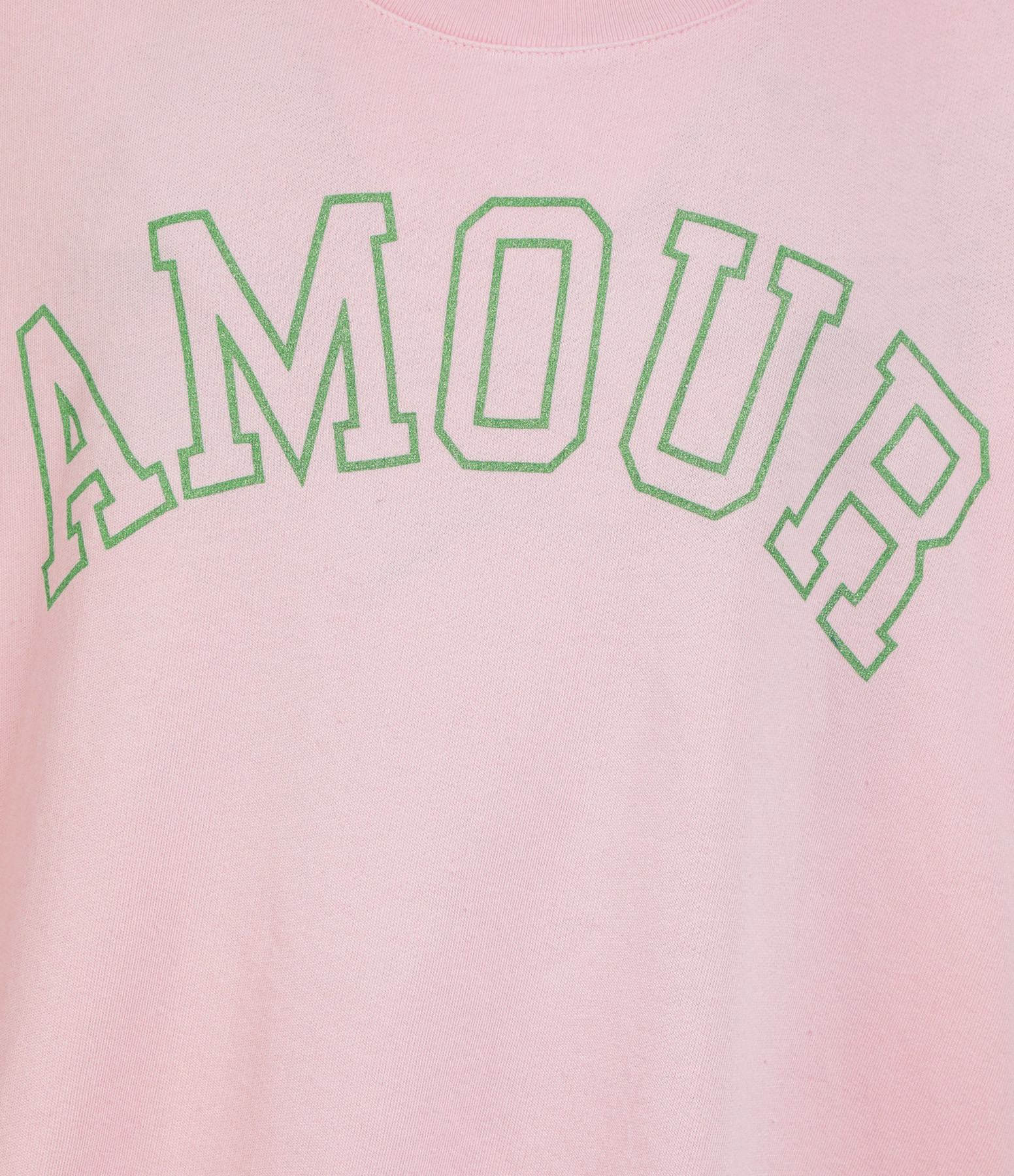 ZADIG & VOLTAIRE - Tee-shirt Portland Amour Coton Modal Rose