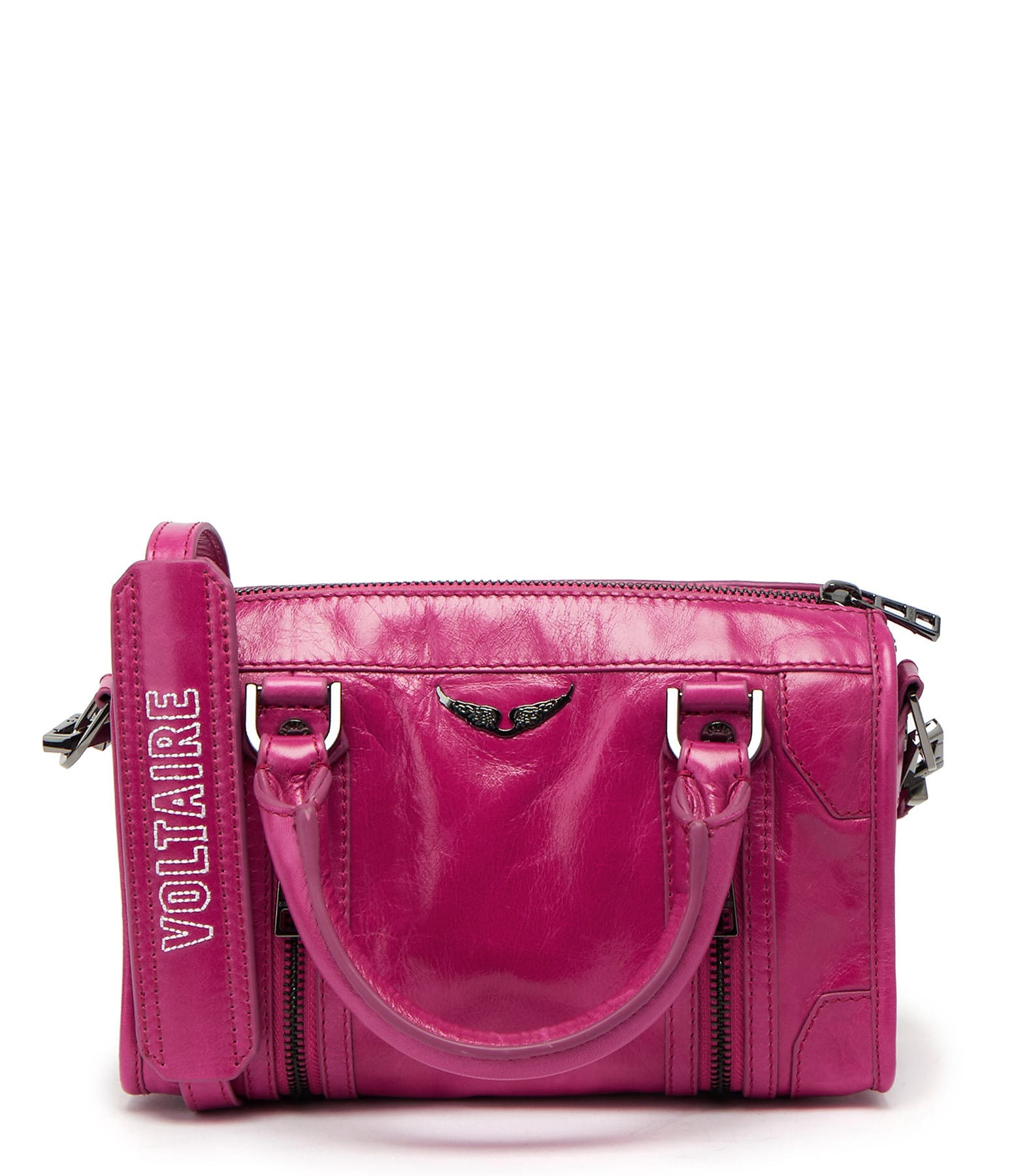 ZADIG & VOLTAIRE - Sac Sunny XS #2 Cuir Rose