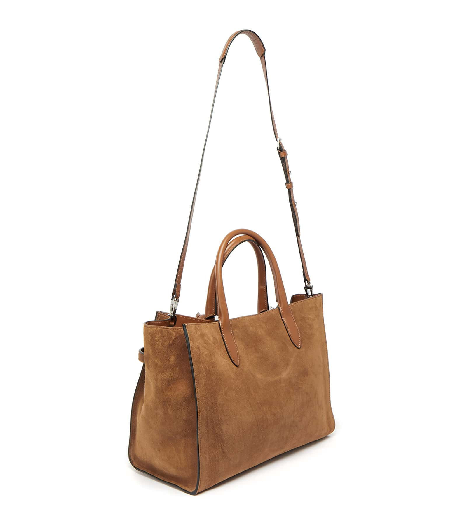 ZADIG & VOLTAIRE - Sac Candide Large Cuir Cognac