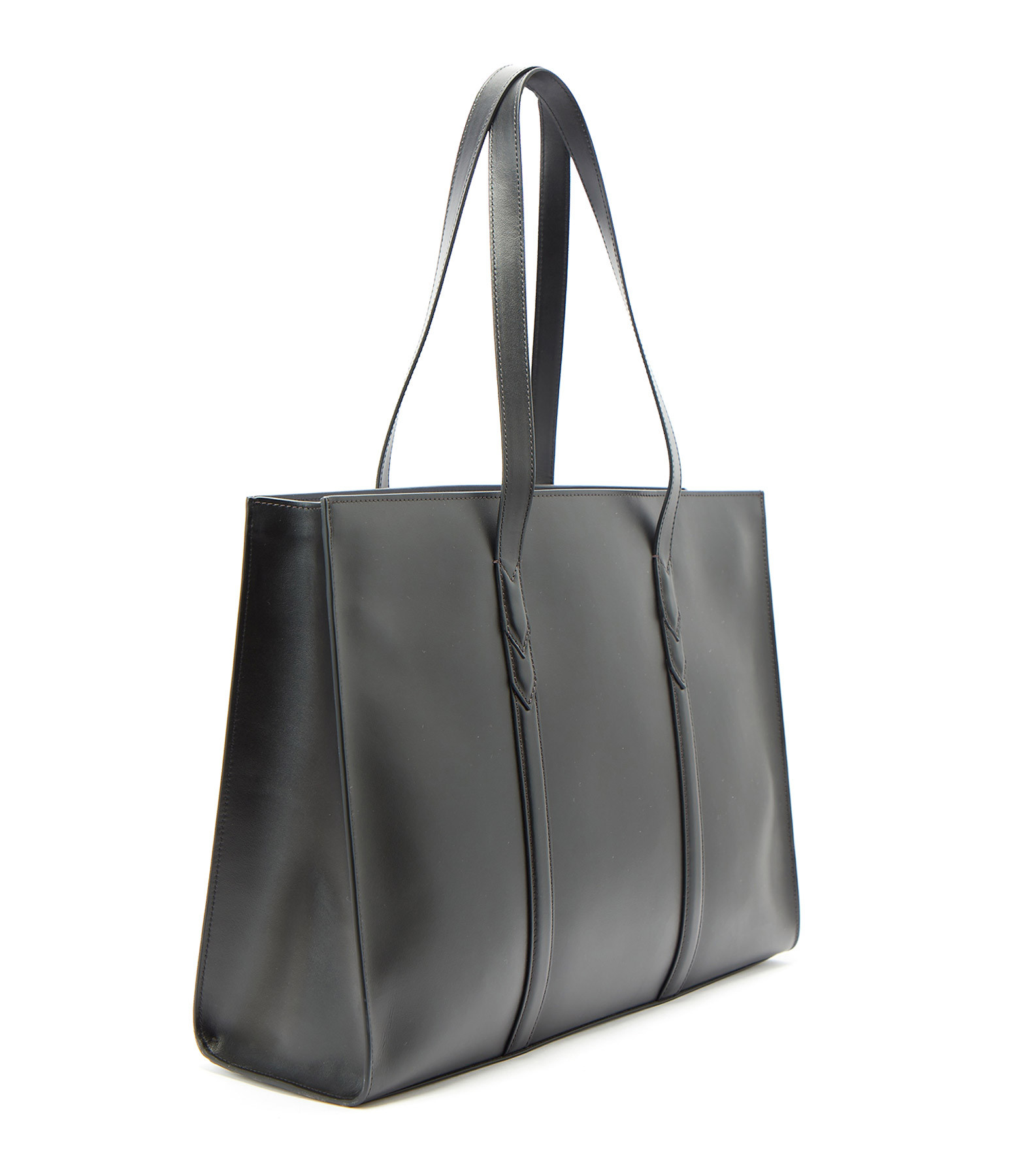 ZADIG & VOLTAIRE - Sac ZV Initiale Le Tote Cuir Noir