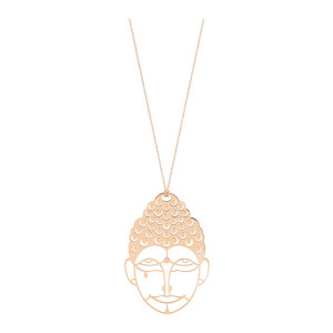Collier Buddha Or Rose