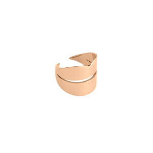 Bague French Kiss Large Or Rose