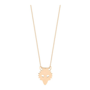 Collier Mini Wolf Or Rose