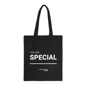 Tote bag You are Special Jeanne Vouland Noir