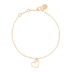 Bracelet Lucky One Cœur Gold Filled, Collection Charms