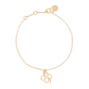 Bracelet Lucky One Trèfle Gold Filled, Collection Charms