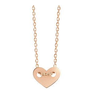 Collier Angie XS Or Rose