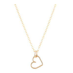 Collier Lucky One Cœur Gold Filled, Collection Charms
