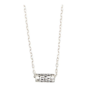 Collier Cylindre Aragon Argent