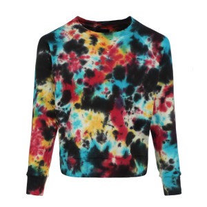 Sweatshirt The Square Coton Tie and Dye