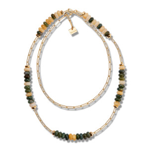 Collier Oasis Double Lise