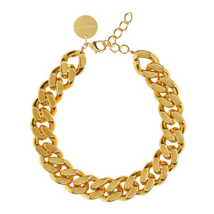 Collier Flat Gold