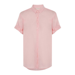 Chemise Channing Coton Rose Corail