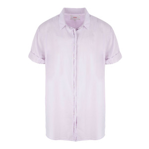 Chemise Channing Coton Lilas