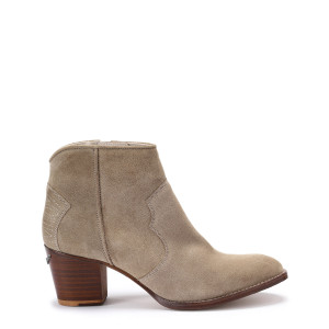 Bottines Molly Cuir Taupe