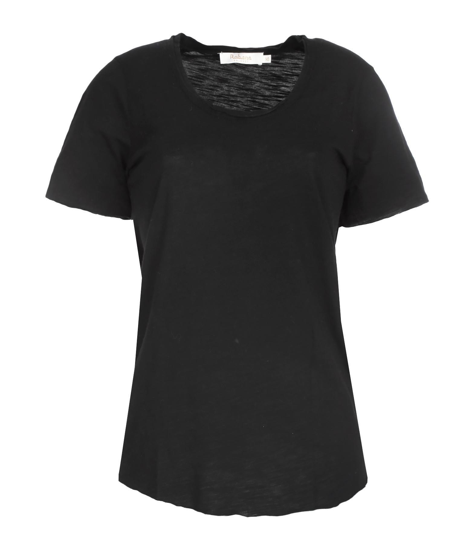 Tee-shirt Monique Coton Noir