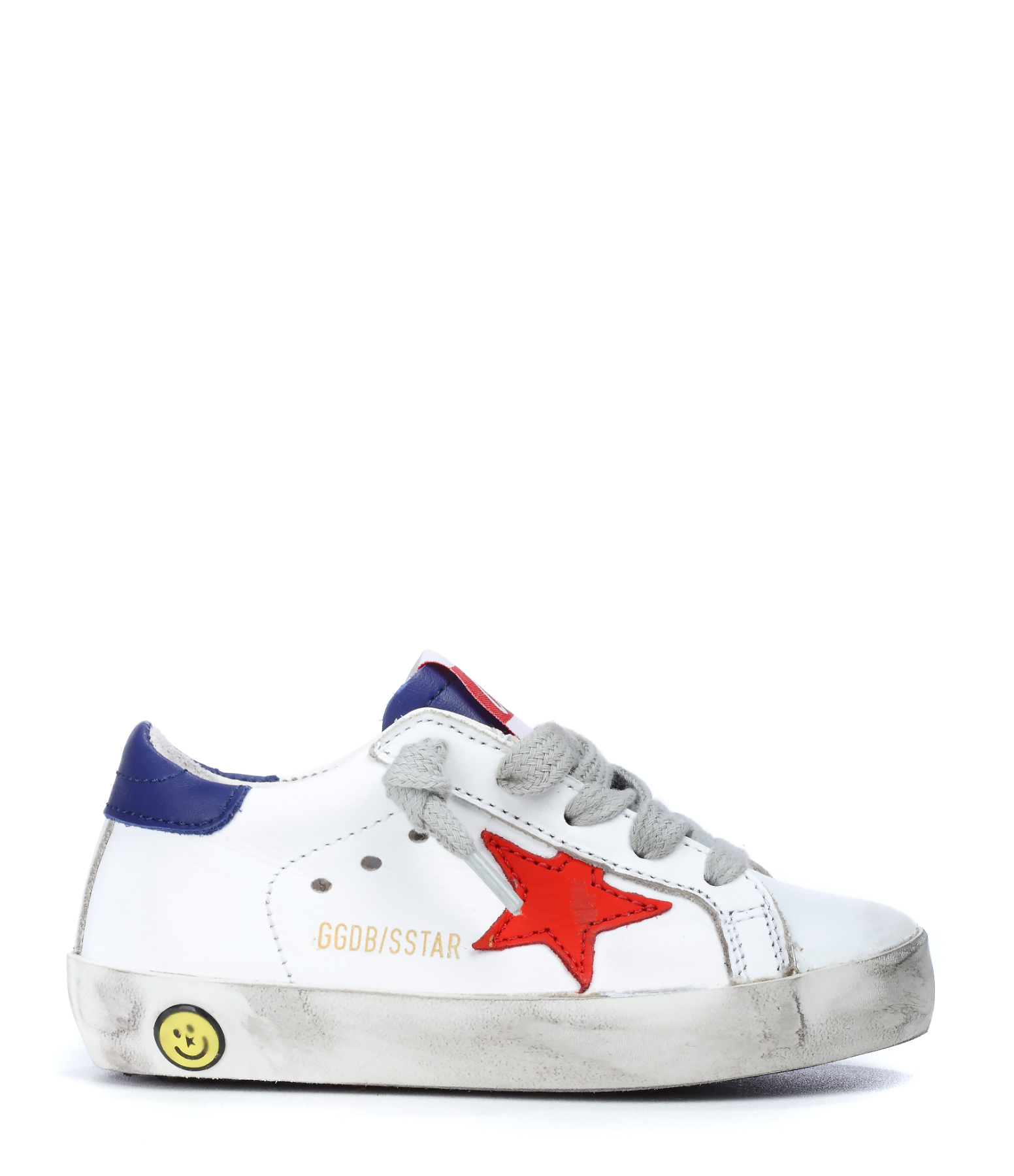 Sneakers Bébé Superstar Cuir White Red Star