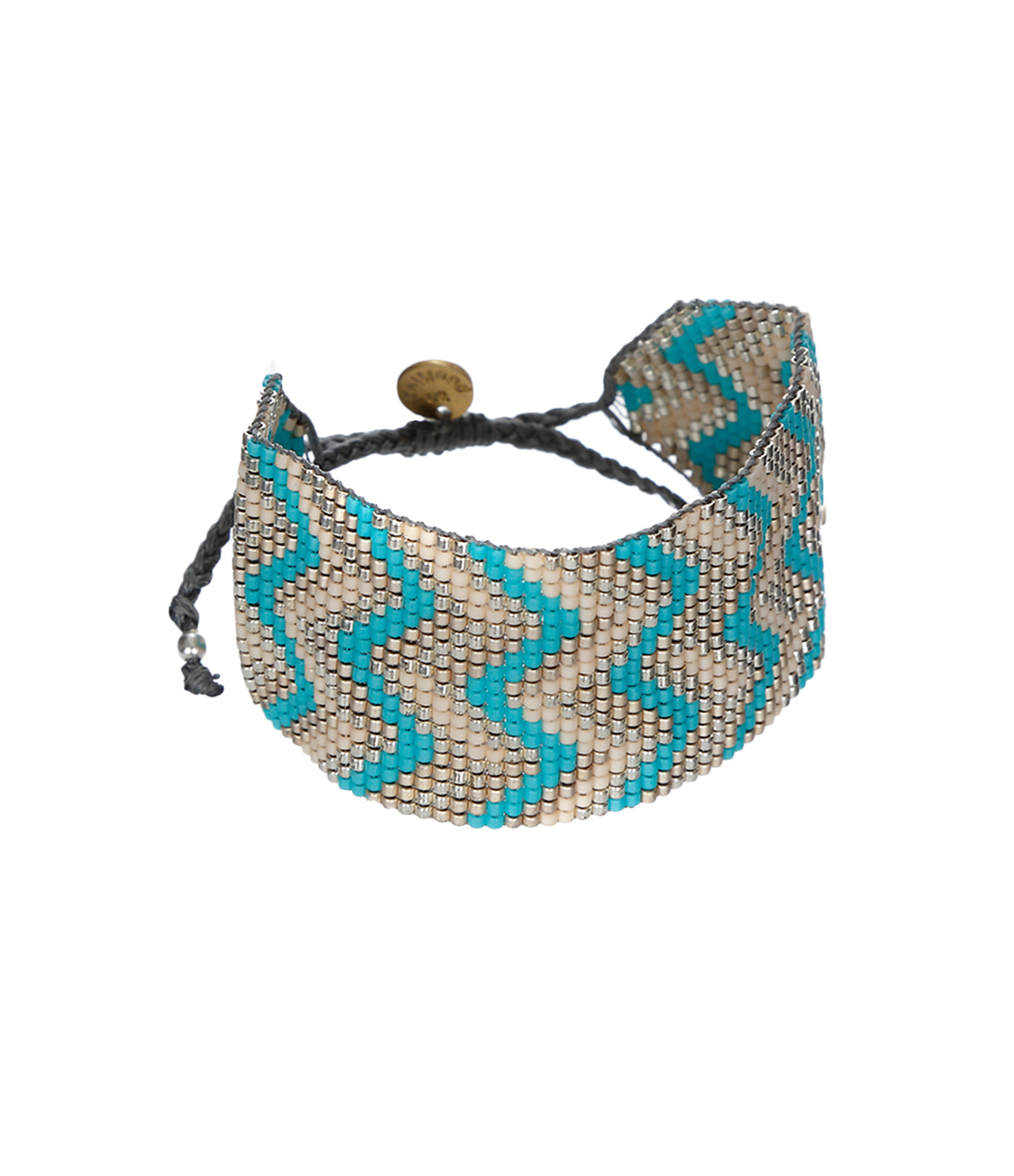 Bracelet Miyuki Bonaire Turquoise