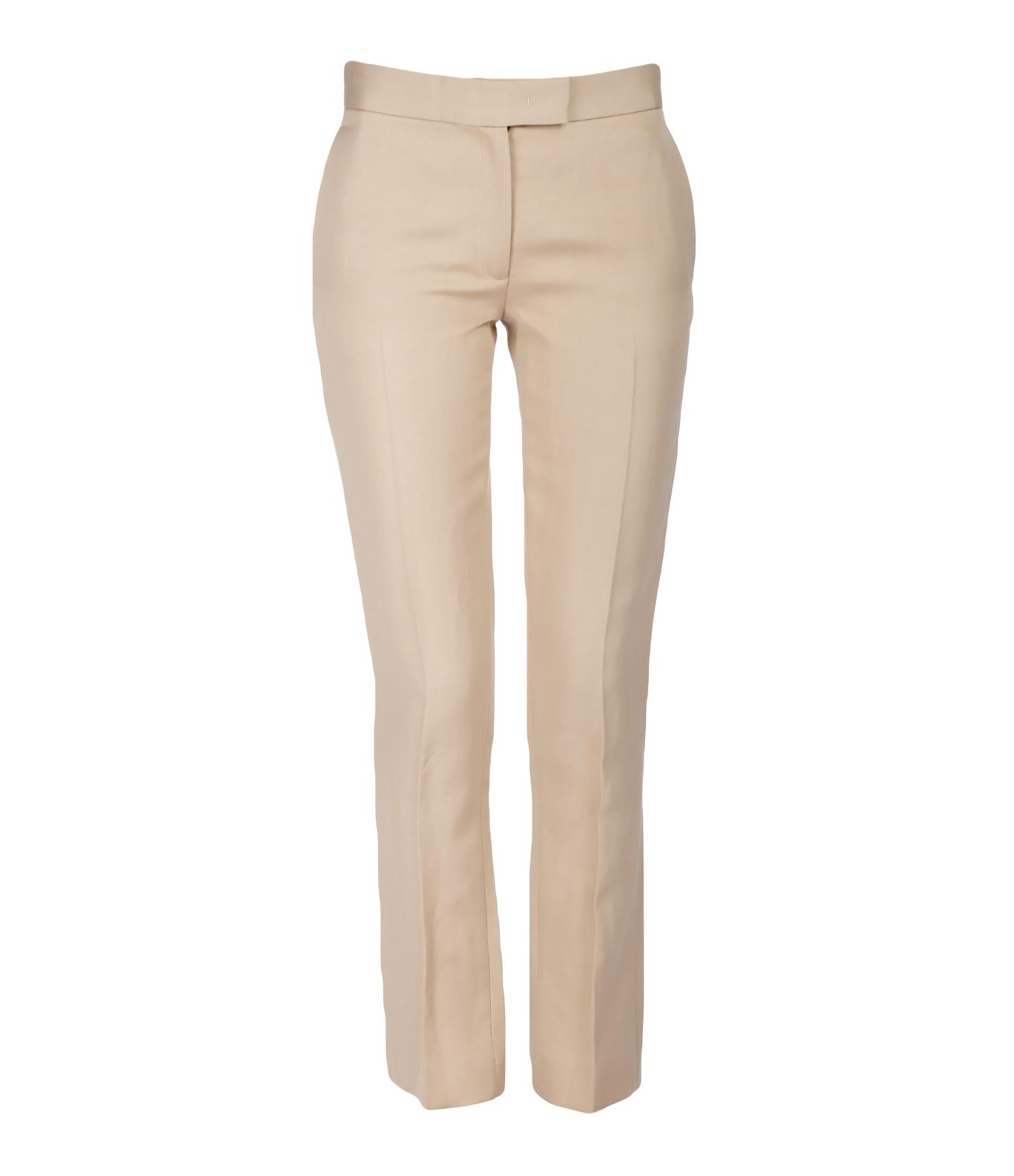 Pantalon Finley Ramie Coton Camel