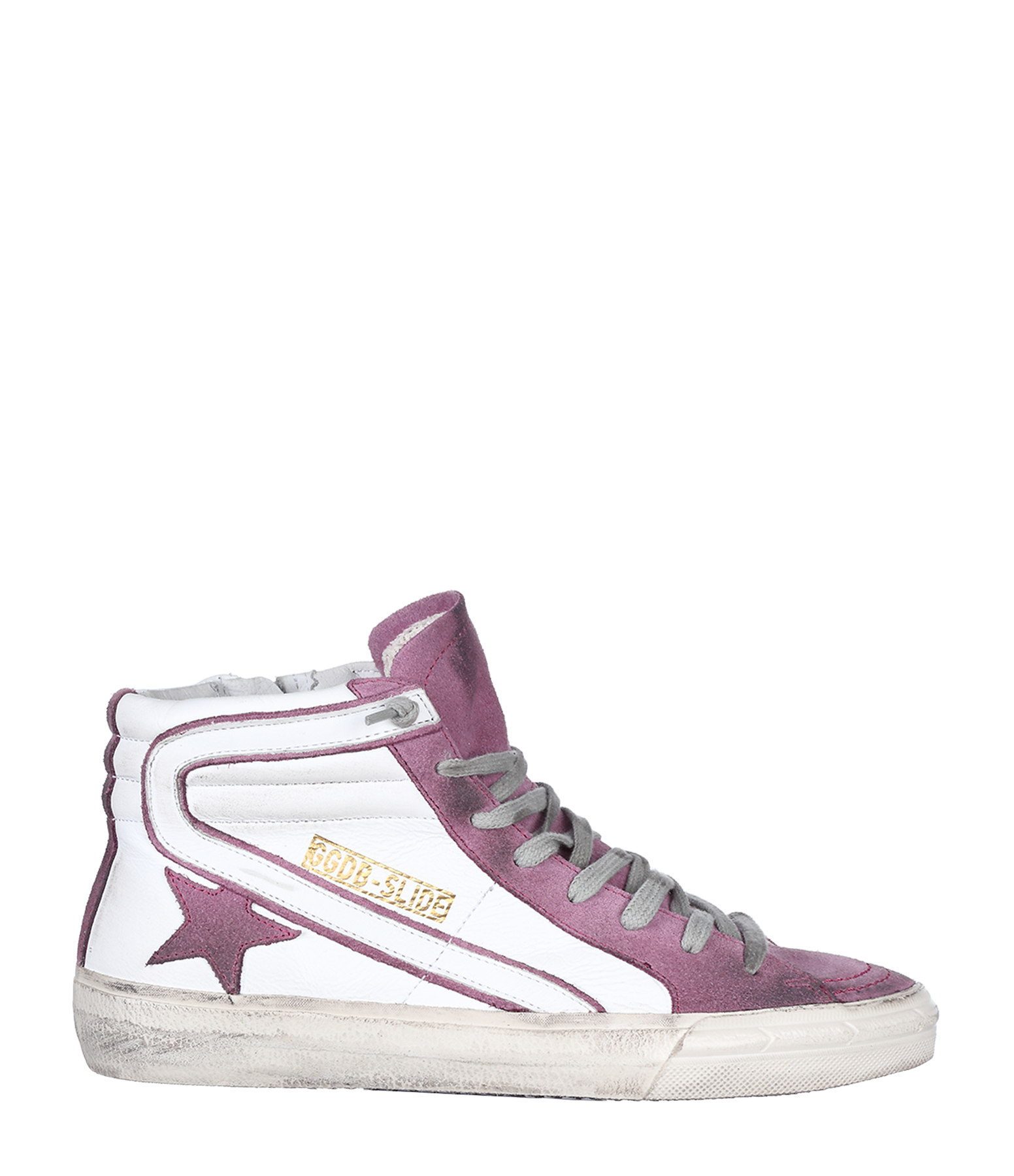 Sneakers Slide White Pink