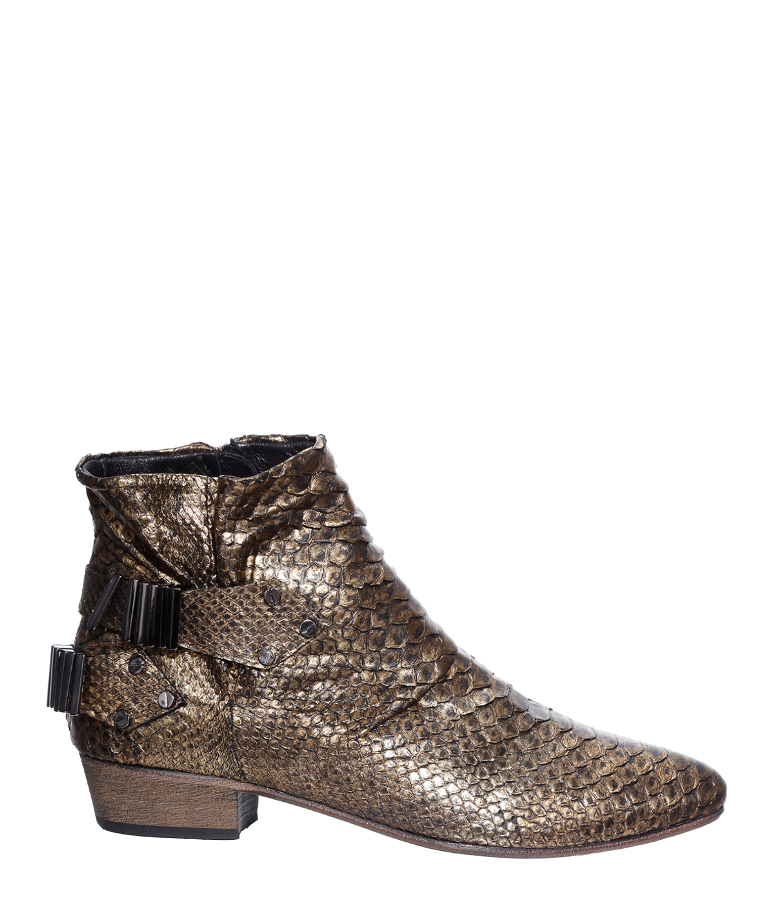 Boots Lo Python Gold