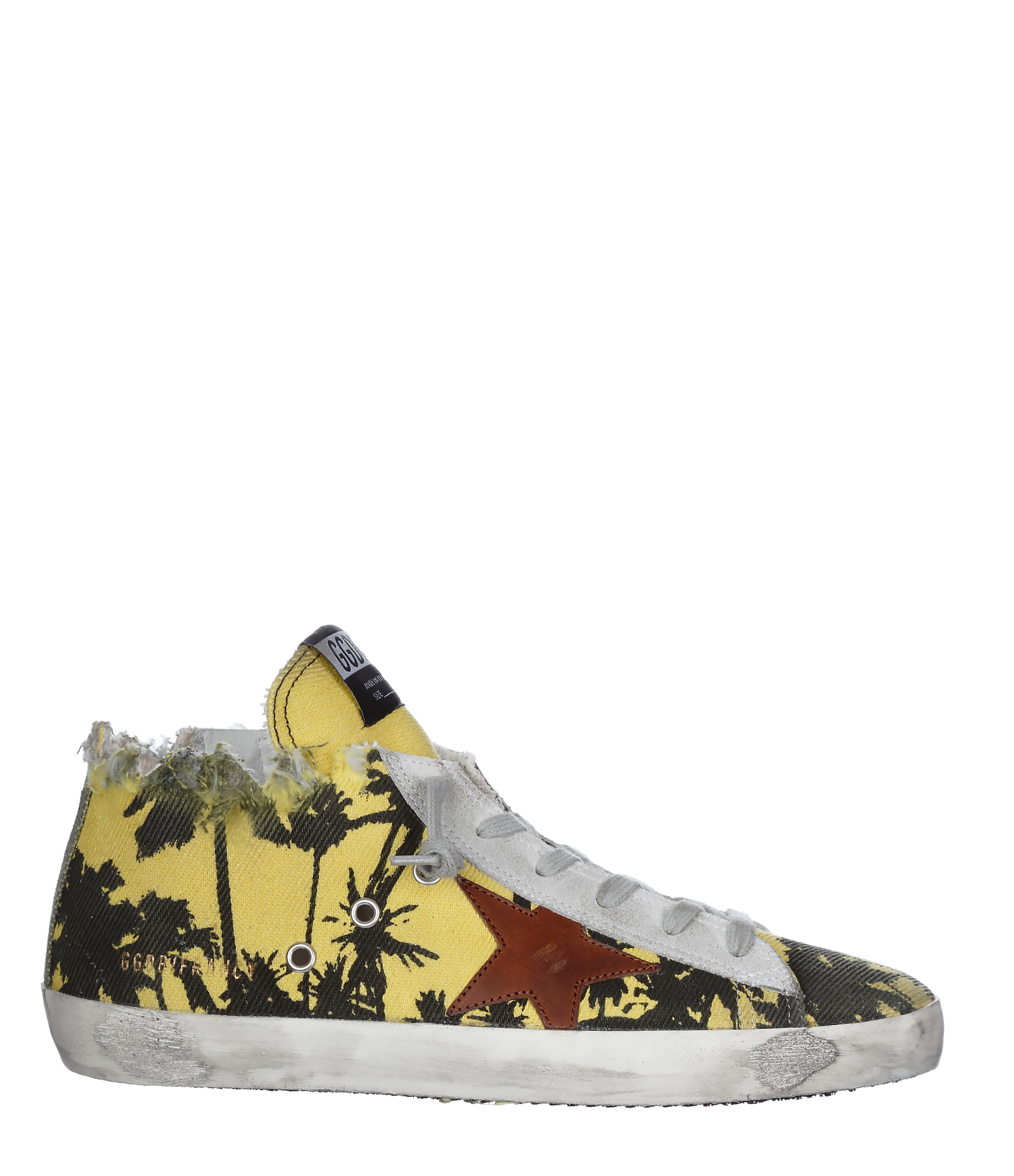 Sneakers Homme Francy Cuir Coton Palm Printed