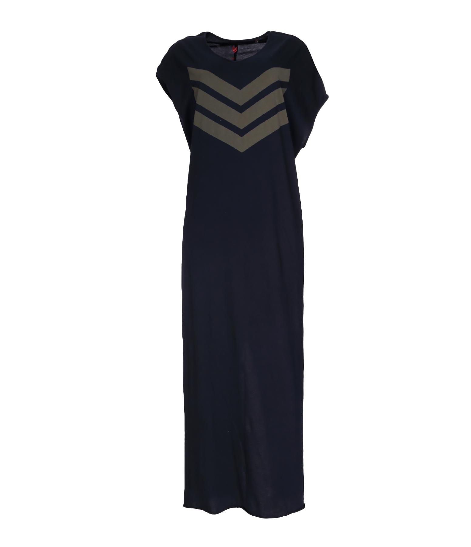 Robe Erin Exclu Lulli Coton Noir
