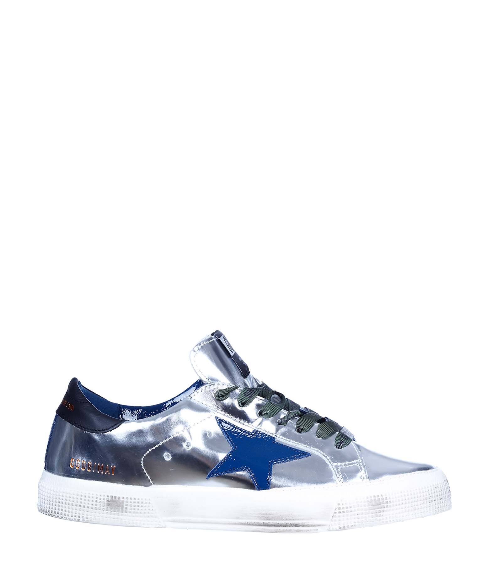 Sneakers May Silver Mirror
