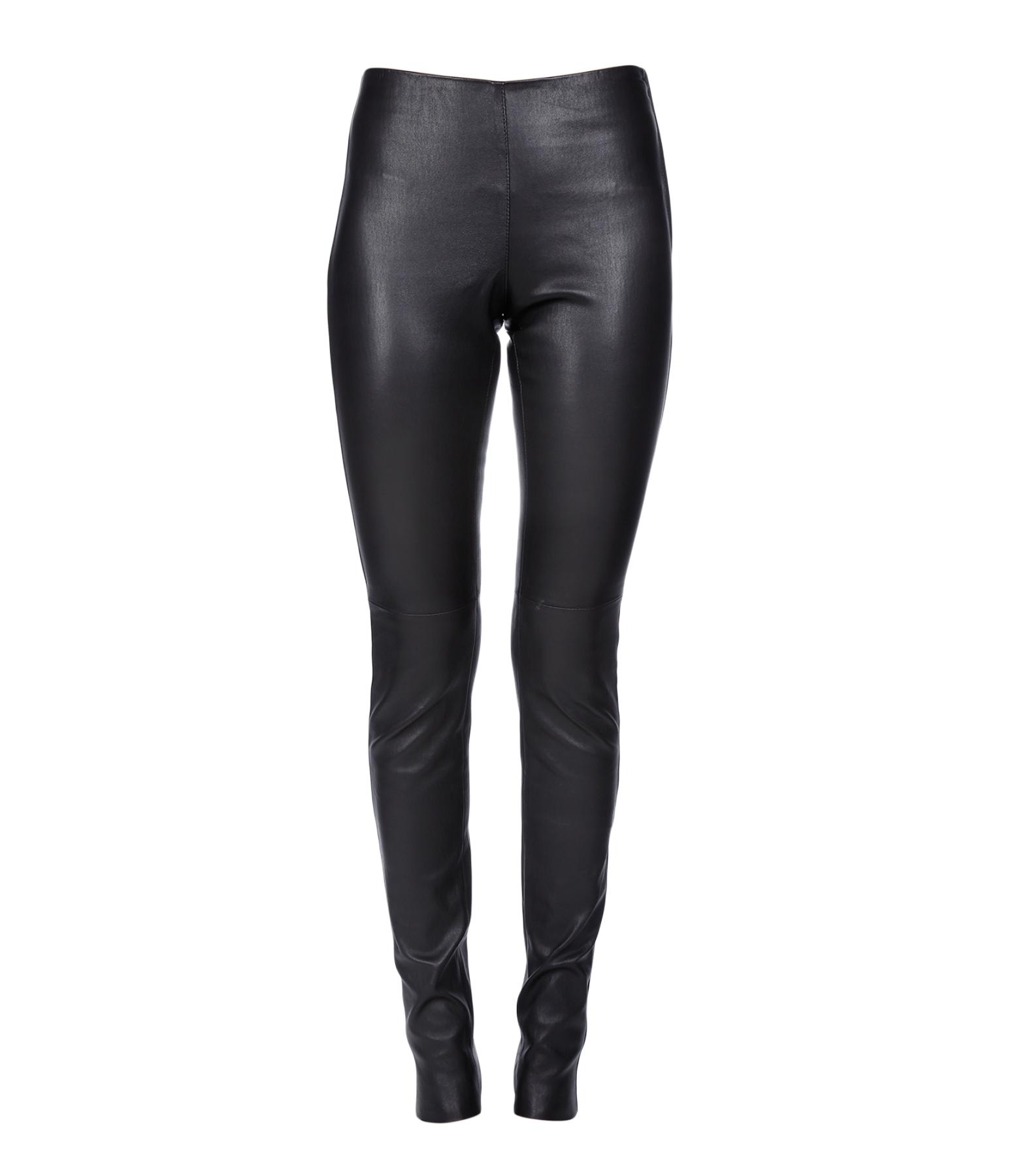 Pantalon Legging Agneau Stretch Noir