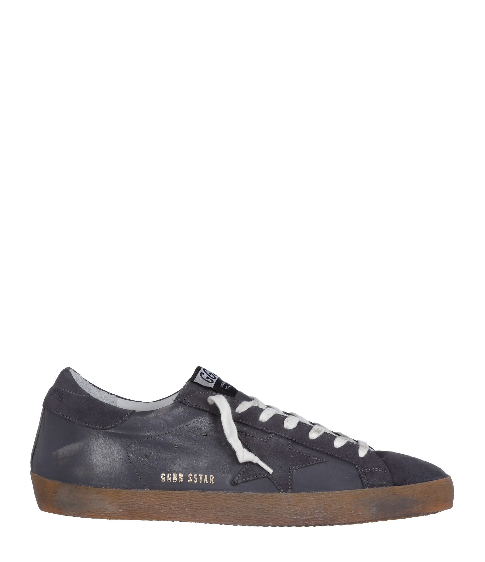 Sneakers Homme Superstar Grey Suede Leather star