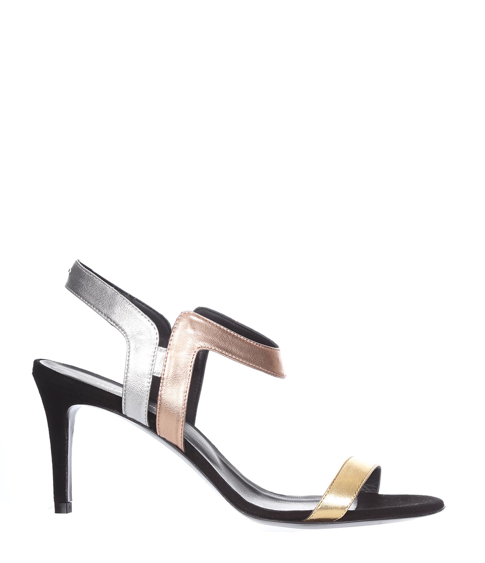 Sandales Dora Noir Métal