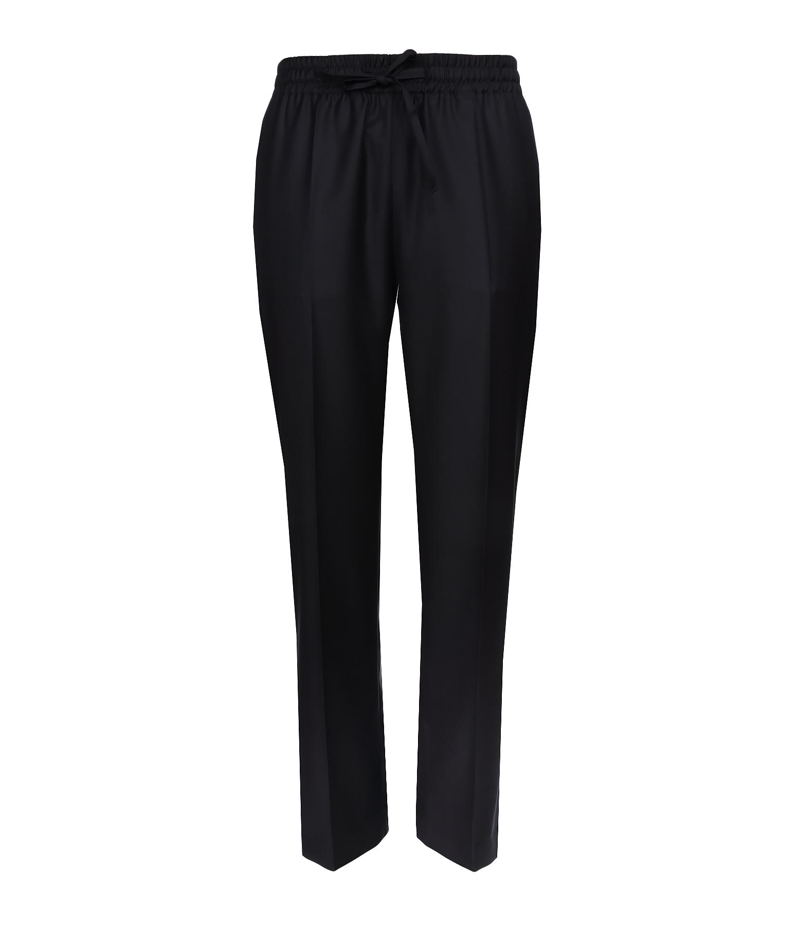 Pantalon Lula Super 100 Laine Noir