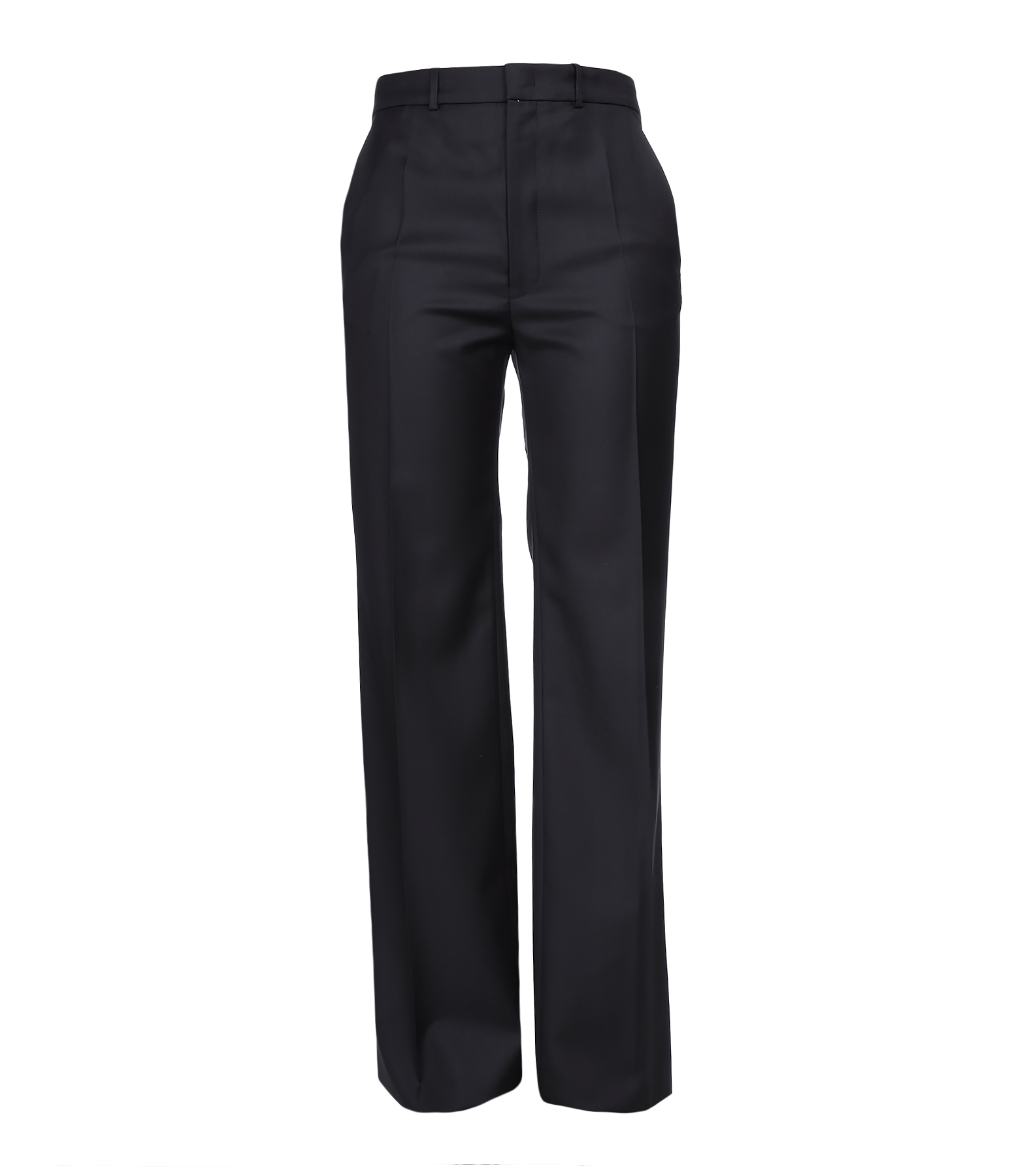Pantalon Fergus Super 100 Laine Noir