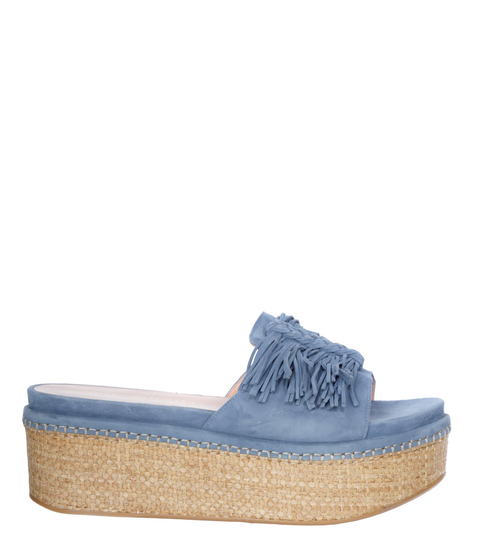 Sandales Compensées Wiggleroom Jean Suede