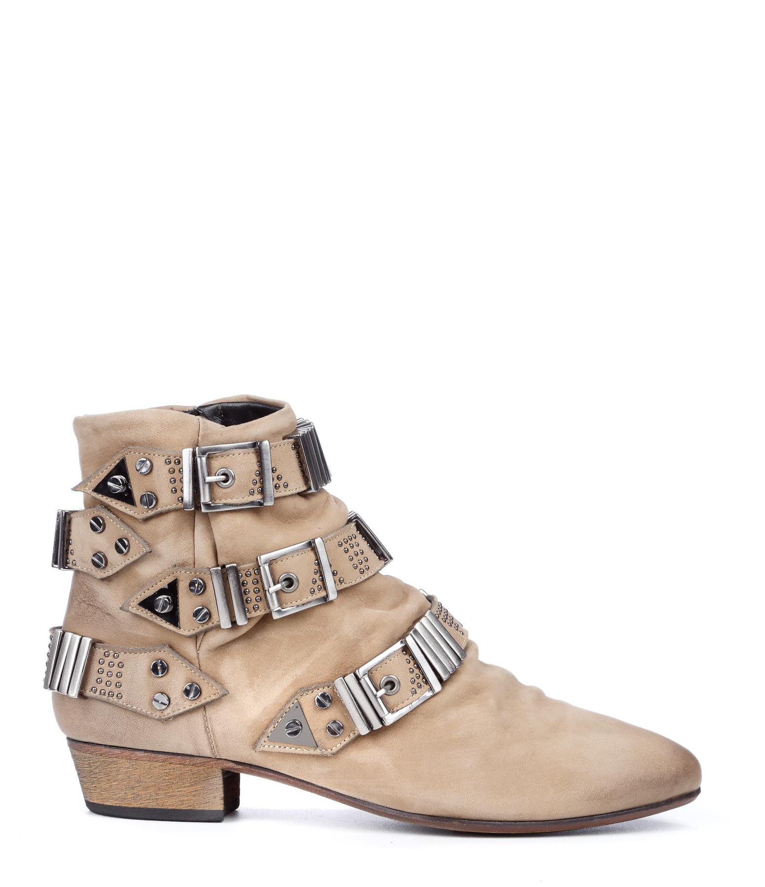 Boots Lo Gig Nubuck Beige