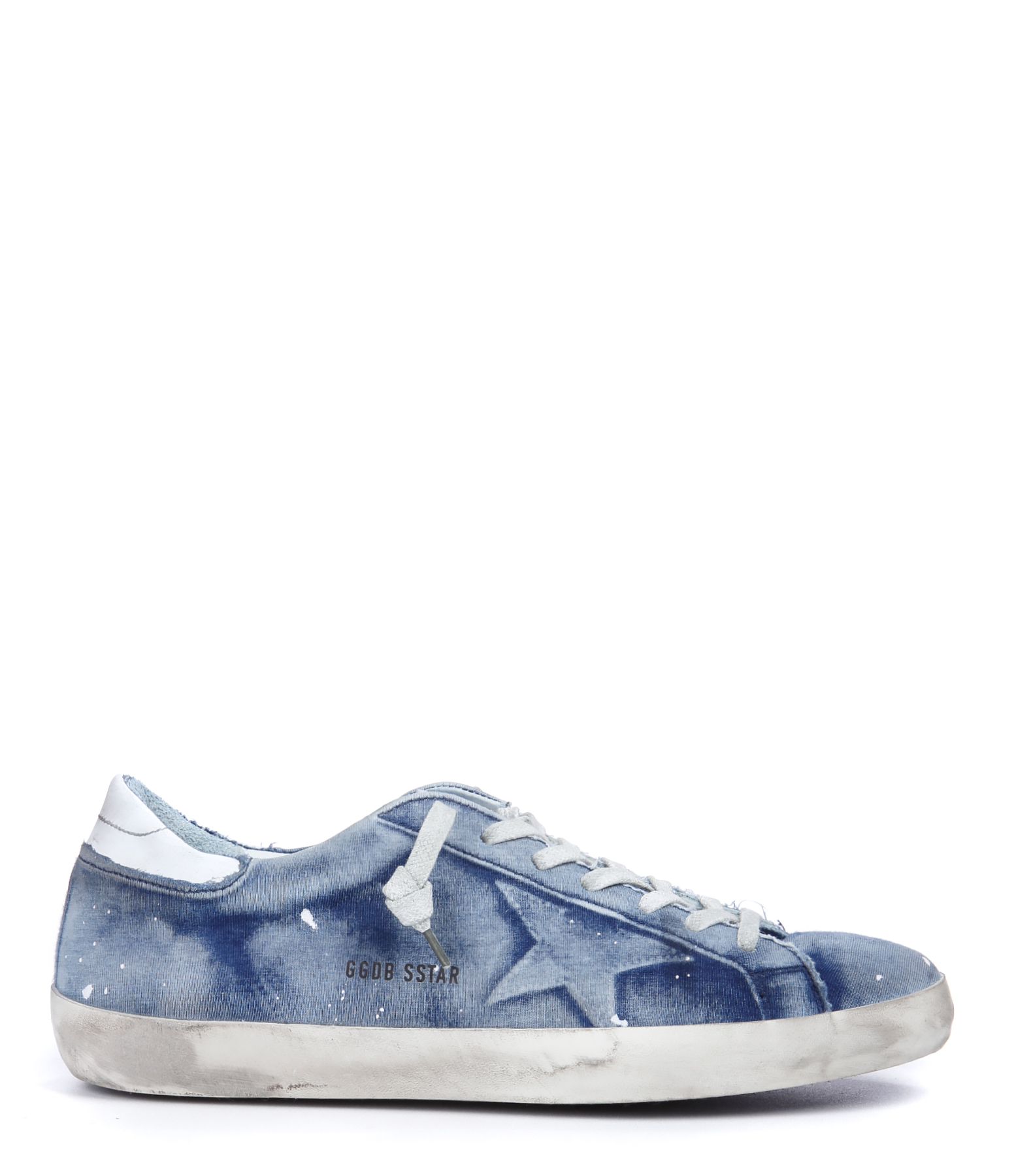 Sneakers Homme Superstar Coton Bleached