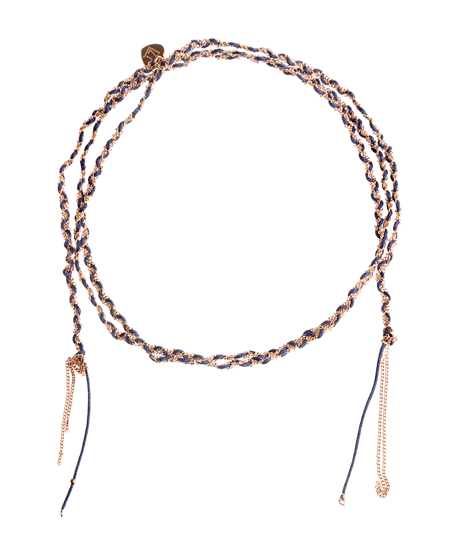Bracelet sautoir Tresse Mila Doré