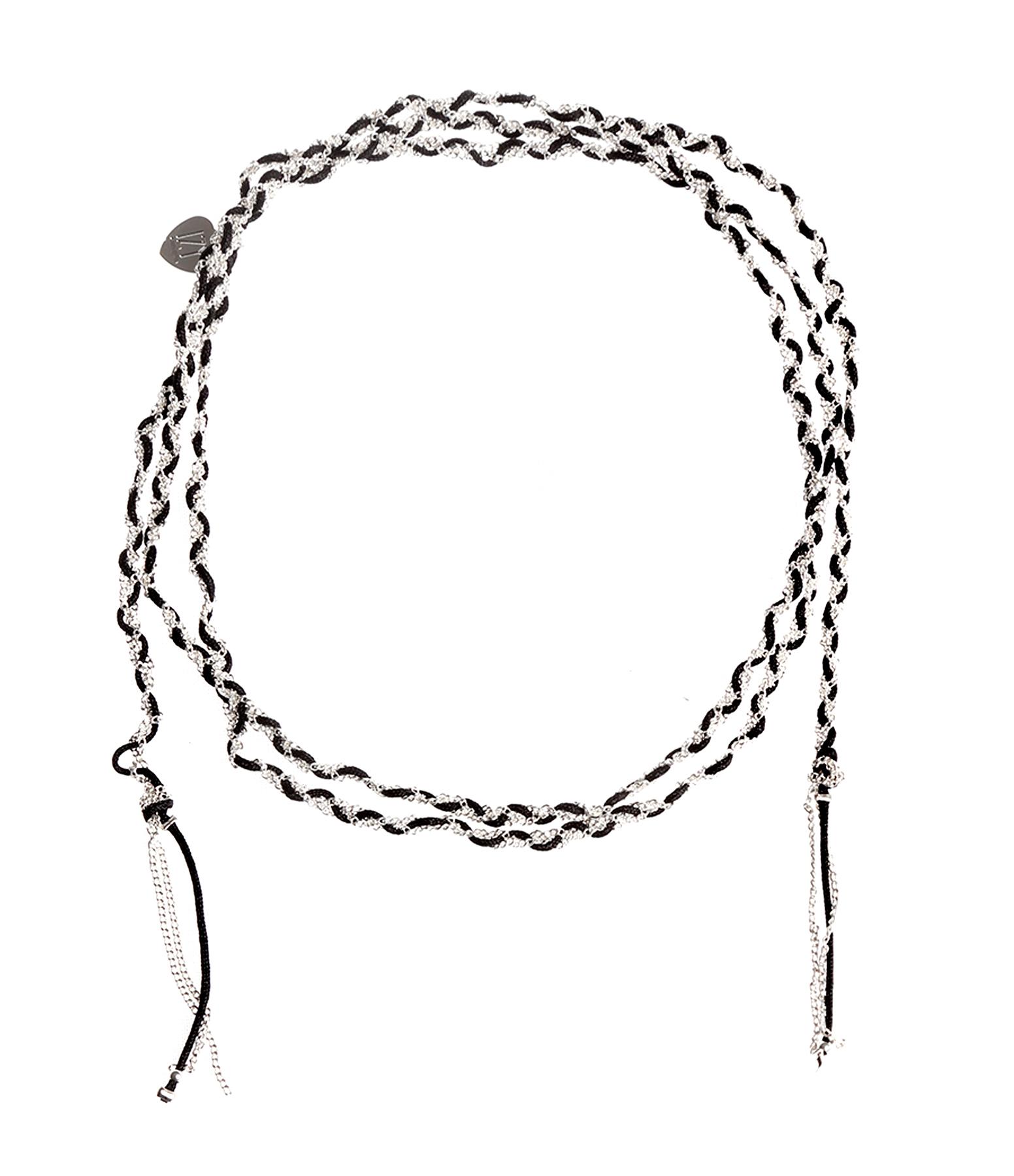 Bracelet sautoir Tresse Mila Argenté