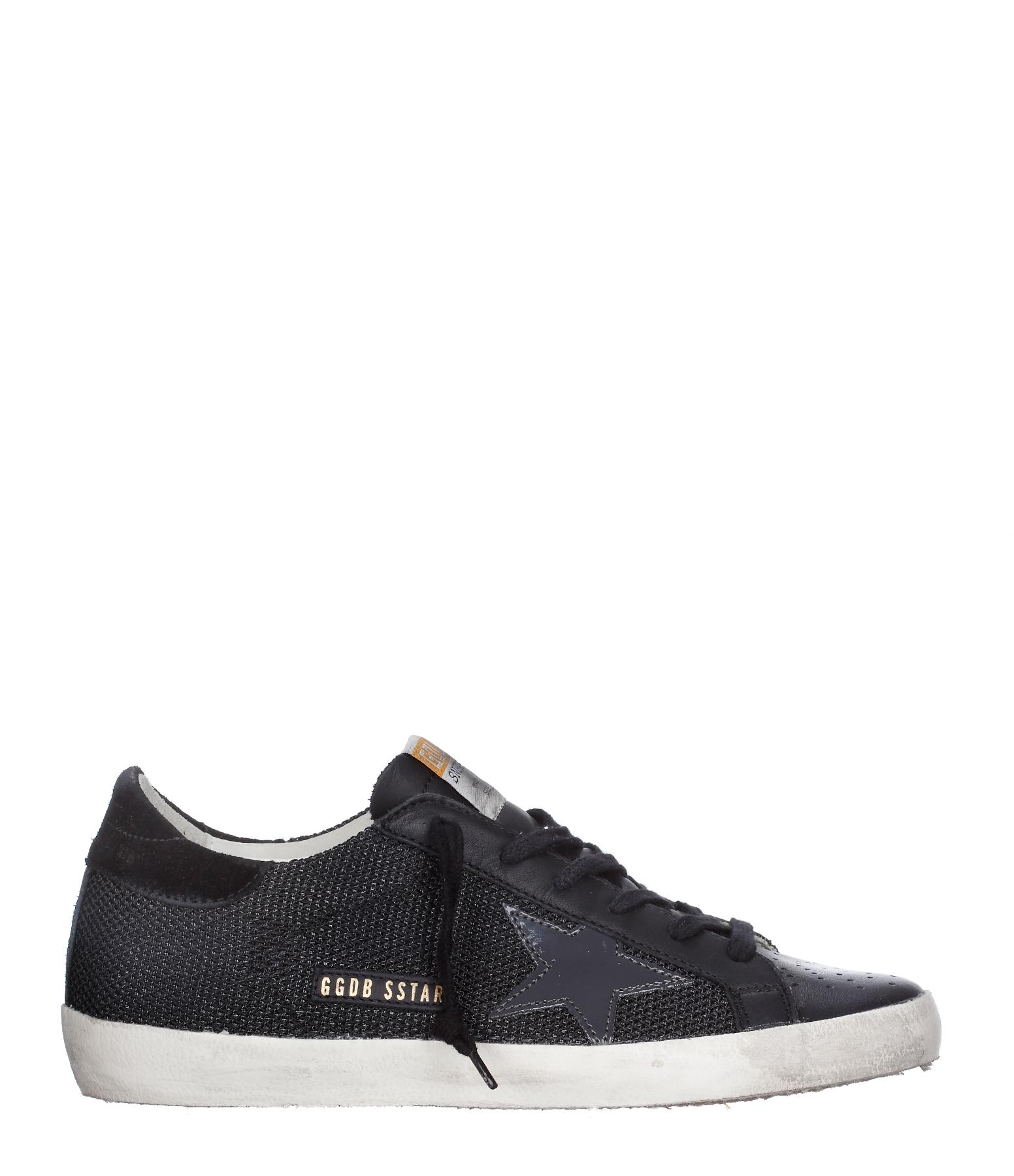 Sneakers Superstar Black Cord
