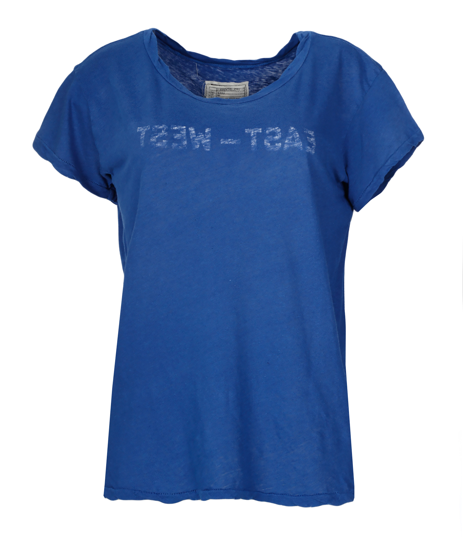 Tee-shirt The Crew Neck Blue East West