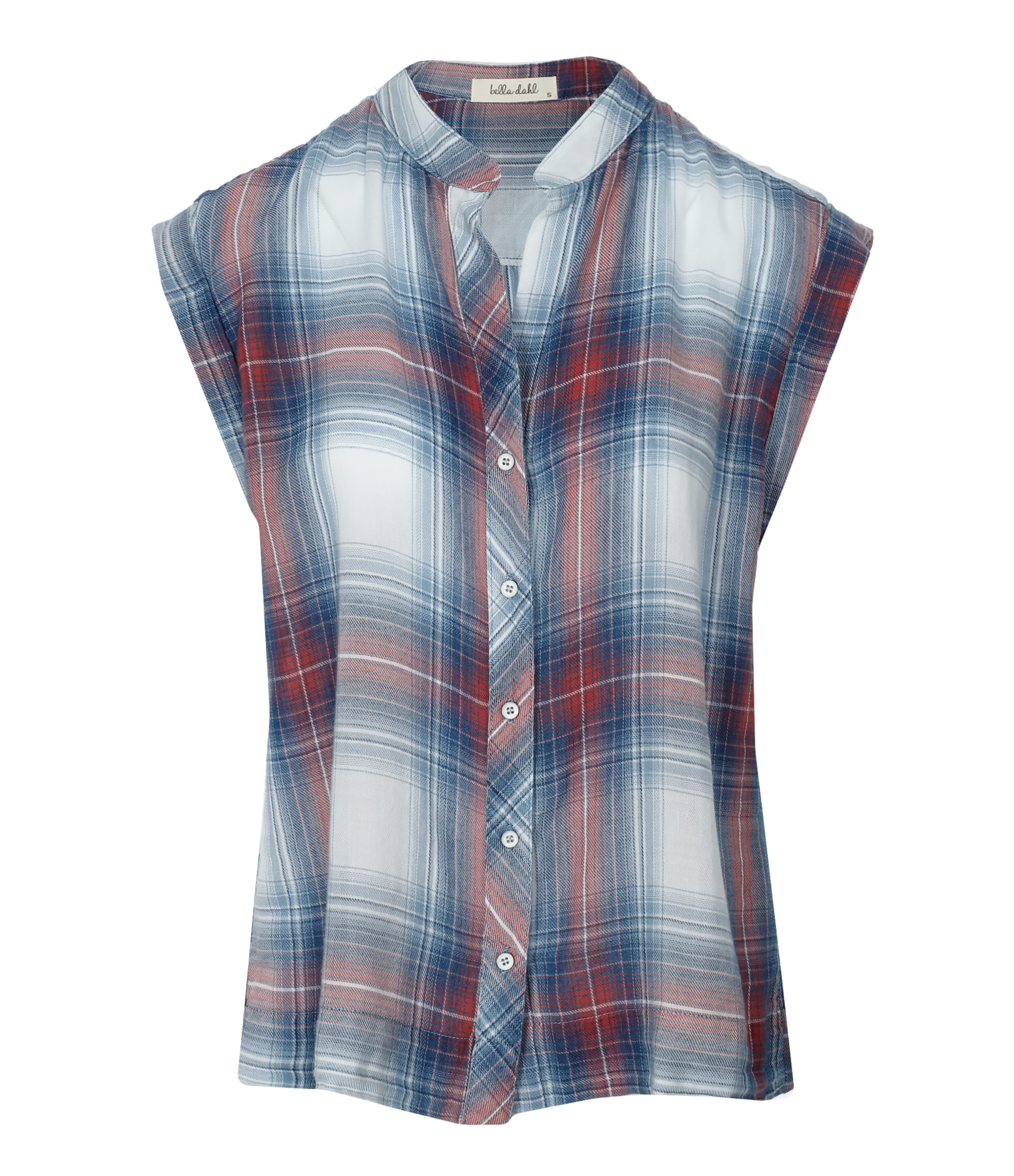 Chemise Capsleeve Button Down Sunglow