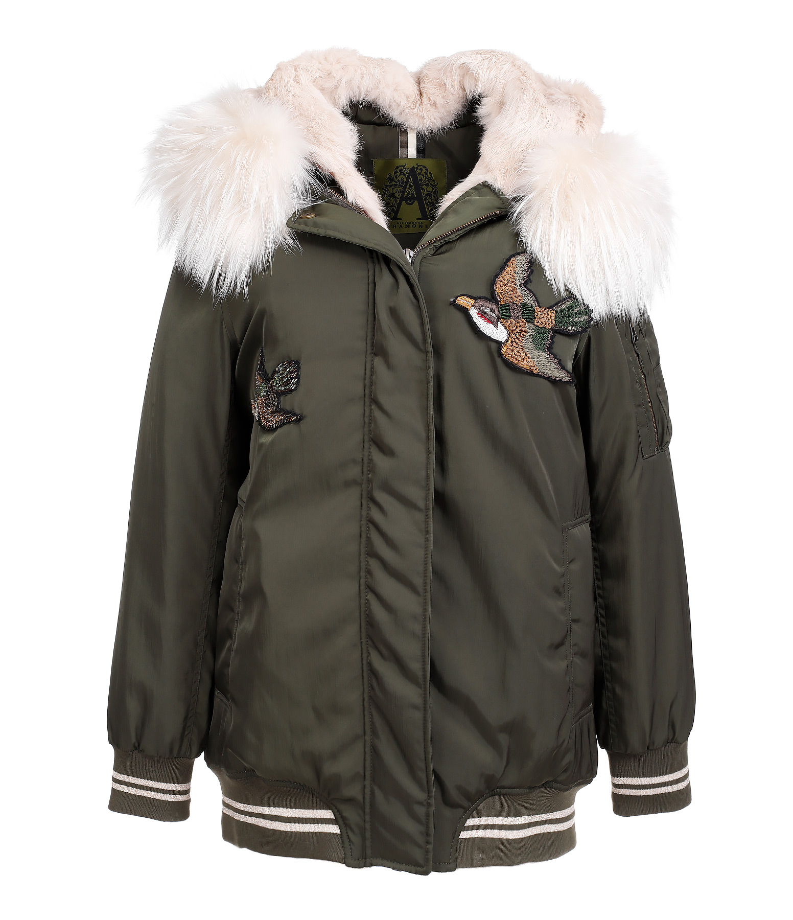 Blouson Constance Military Stucco