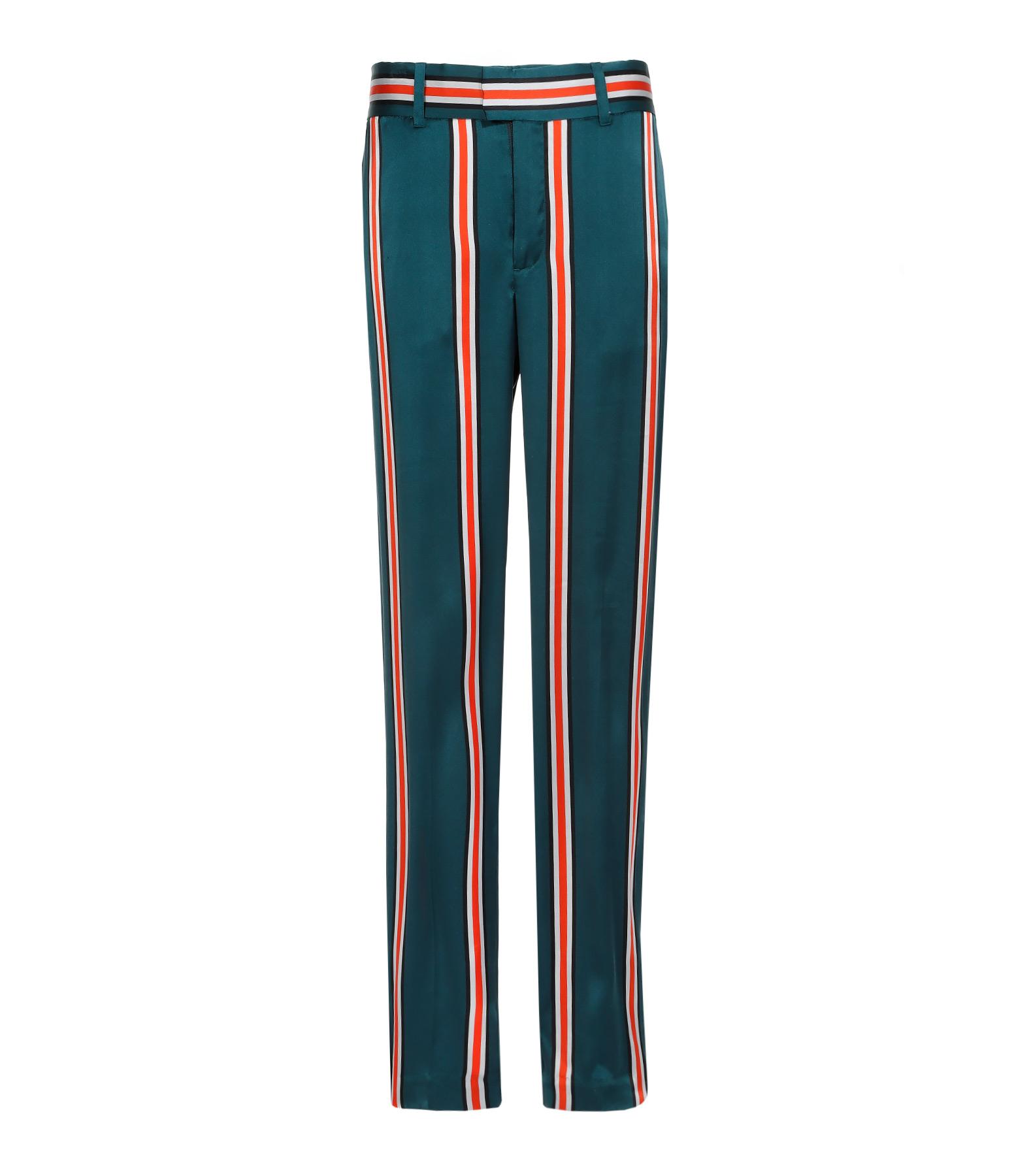 Pantalon Florence Soie Eden Green