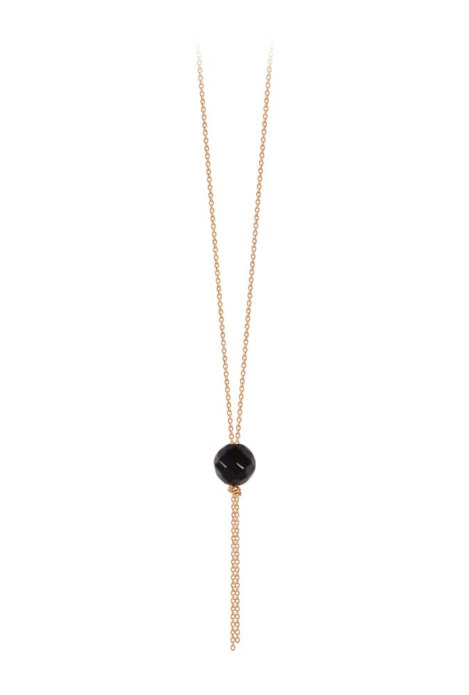 Collier Onyx Single Bead