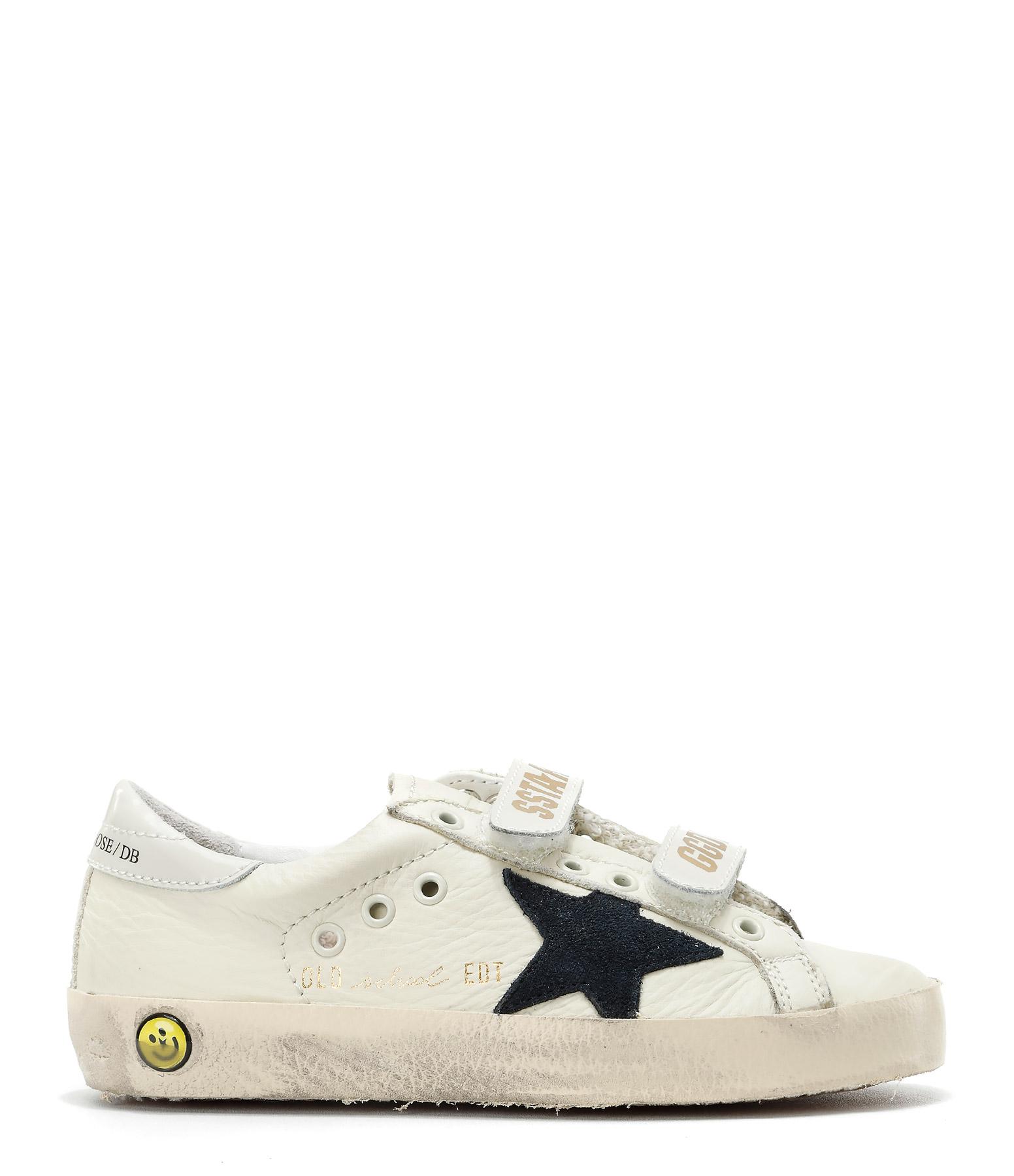 Sneakers Enfant Superstar Old School Cream Blue
